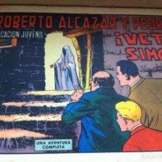 Tebeos: ROBERTO ALCAZAR Y PEDRIN, NÚMERO 1048, OCTUBRE DE 1972. EDITORIAL VALENCIANA ORIGINAL. Lote 213678697