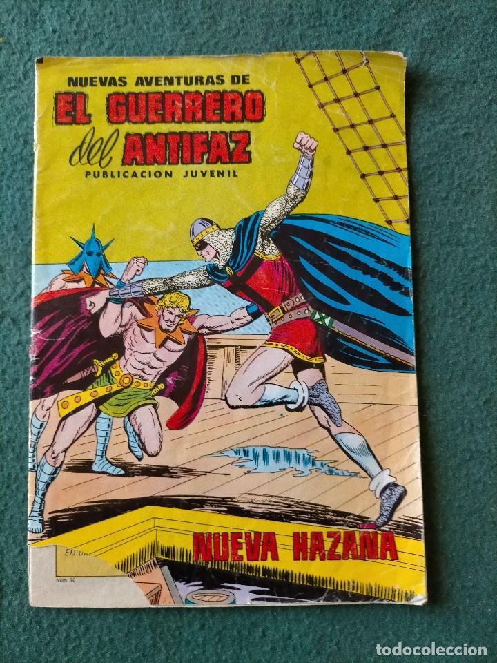 EL GUERRERO DEL ANTIFAZ. COMIC Nº 70. 25 PTS. (Tebeos y Comics - Valenciana - Guerrero del Antifaz)