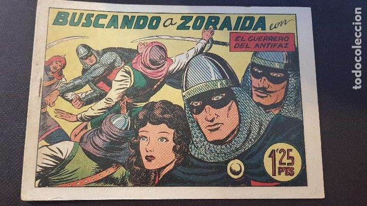 BUSCANDO A ZORAIDA Nº105 (Tebeos y Comics - Valenciana - Guerrero del Antifaz)