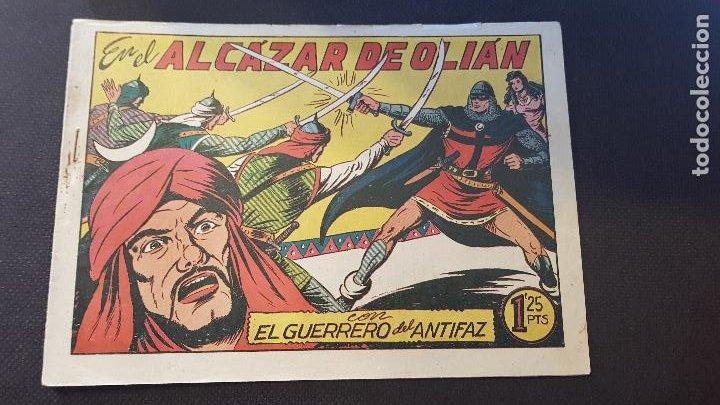 EN EL ALCAZAR DE OLIAN Nº102 (Tebeos y Comics - Valenciana - Guerrero del Antifaz)