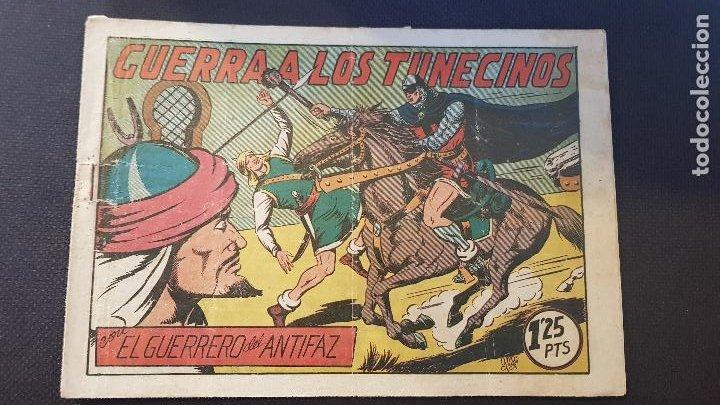 GUERRA A LOS TUNECINOS Nº100 (Tebeos y Comics - Valenciana - Guerrero del Antifaz)