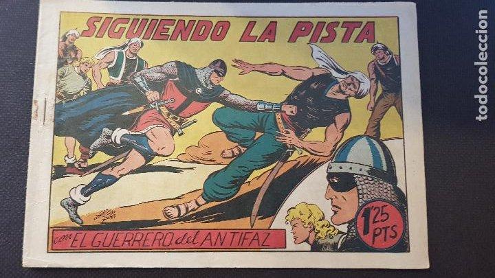 SIGUIENDO LA PISTA Nº98 (Tebeos y Comics - Valenciana - Guerrero del Antifaz)