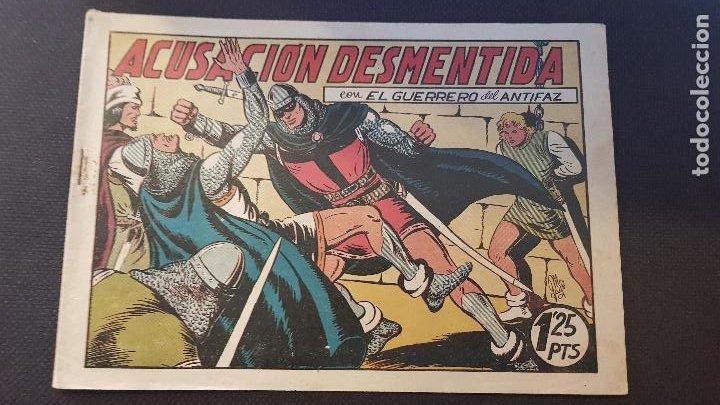 ACUSACION DESMENTIDA Nº97 (Tebeos y Comics - Valenciana - Guerrero del Antifaz)