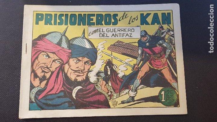 PRISIONEROS DE LOS KAN Nº93 (Tebeos y Comics - Valenciana - Guerrero del Antifaz)