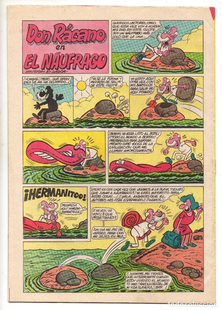 Tebeos: JAIMITO (Valenciana) EXTRA VERANO (1968), EXTRA PRIMAVERA (1975) y nº 1502 (1978) 3 tebeos. - Foto 7 - 198181237