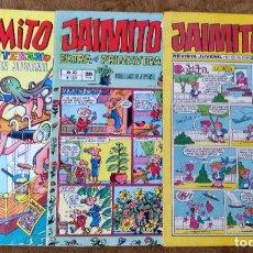 Tebeos: JAIMITO (VALENCIANA) EXTRA VERANO (1968), EXTRA PRIMAVERA (1975) Y Nº 1502 (1978) 3 TEBEOS.. Lote 198181237
