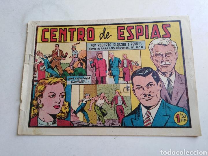 Tebeos: Lote de 14 cómic ( Roberto alcázar y pedrin ) originales de época - Foto 10 - 213875931