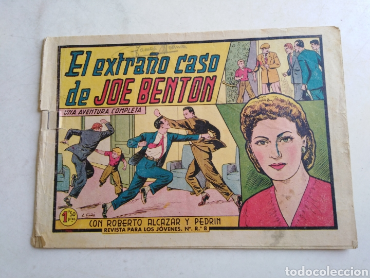 Tebeos: Lote de 14 cómic ( Roberto alcázar y pedrin ) originales de época - Foto 24 - 213875931