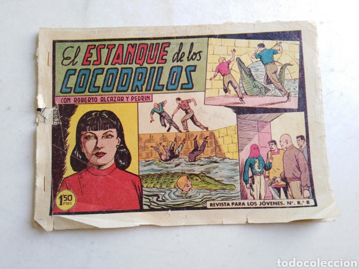 Tebeos: Lote de 14 cómic ( Roberto alcázar y pedrin ) originales de época - Foto 28 - 213875931