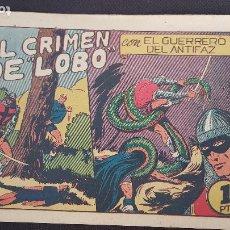 Tebeos: EL CRIMEN DE LOBO (ORIGINAL) Nº52. Lote 214009456