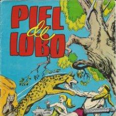 Tebeos: CÓMIC TEBEO PIEL DE LOBO. CONTRA LOS CANES SALVAJES.. Lote 214228128