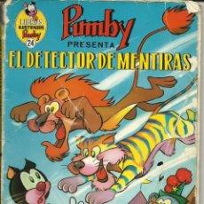 Tebeos: PUMBY. EL DETECTOR DE MENTIRAS. CÓMIC TEBEO .. Lote 214228492