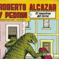 Tebeos: CÓMIC TEBEO. ROBERTO ALCAZAR Y PEDRÍN. EL MONSTRUO DEL TERROR.. Lote 214229152