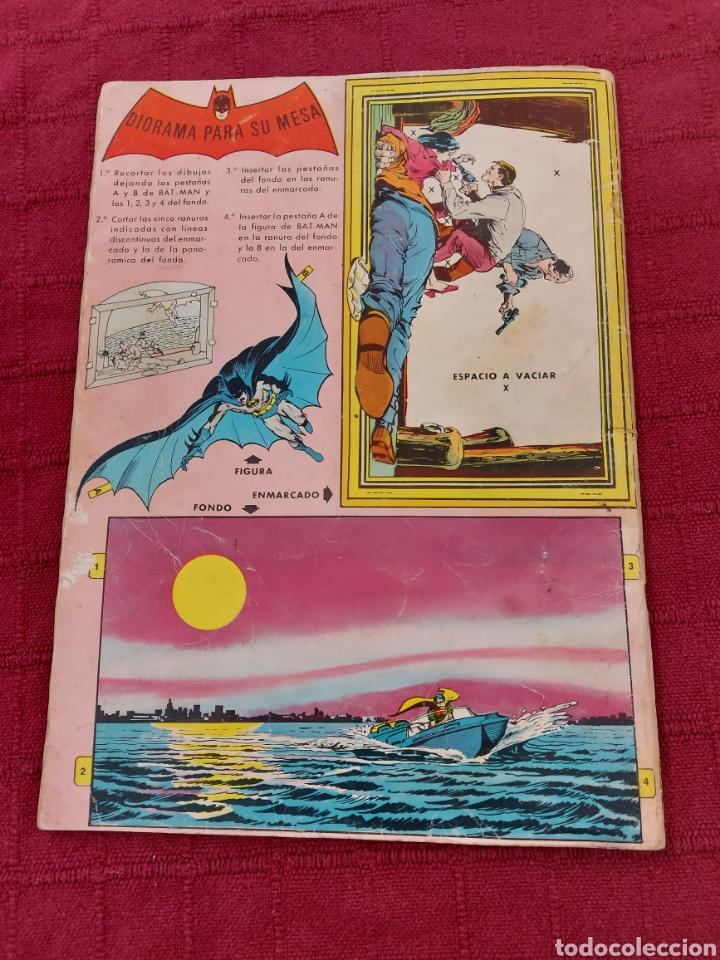 Tebeos: BATMAN-ÁLBUM GIGANTE EDITORIAL VALENCIANA 1976-COMIC SUPER HEROES - Foto 2 - 214254993
