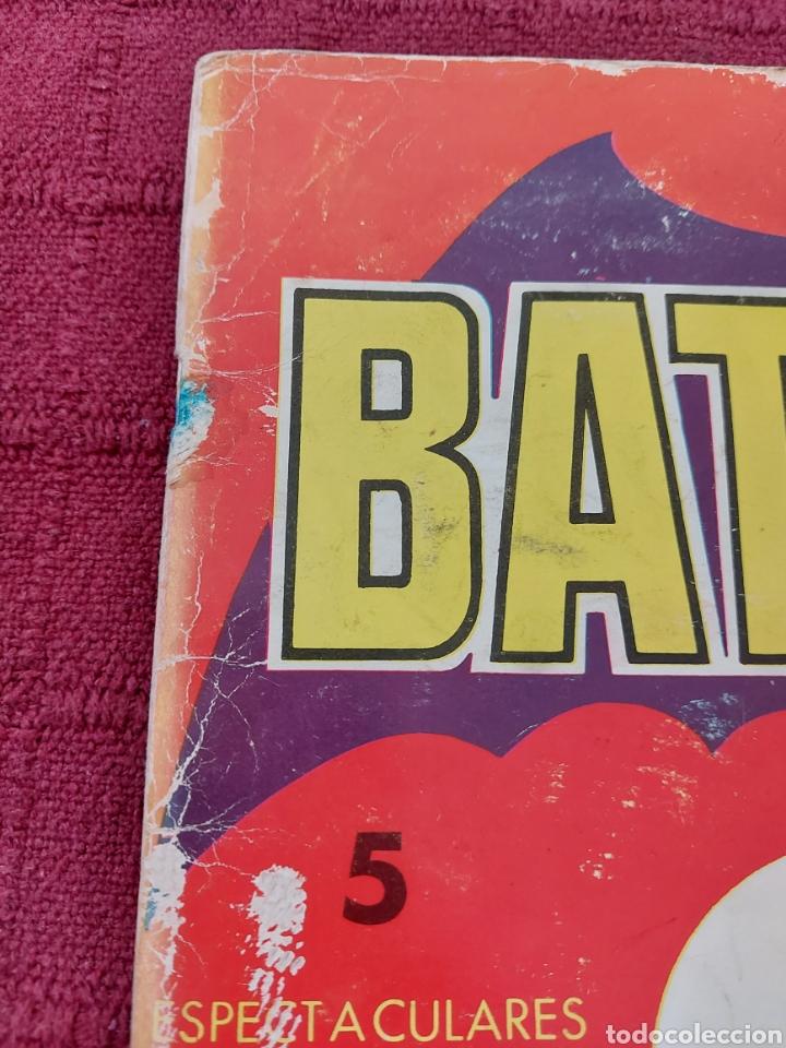 Tebeos: BATMAN-ÁLBUM GIGANTE EDITORIAL VALENCIANA 1976-COMIC SUPER HEROES - Foto 6 - 214254993