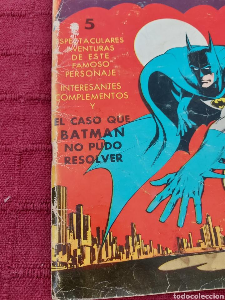 Tebeos: BATMAN-ÁLBUM GIGANTE EDITORIAL VALENCIANA 1976-COMIC SUPER HEROES - Foto 8 - 214254993