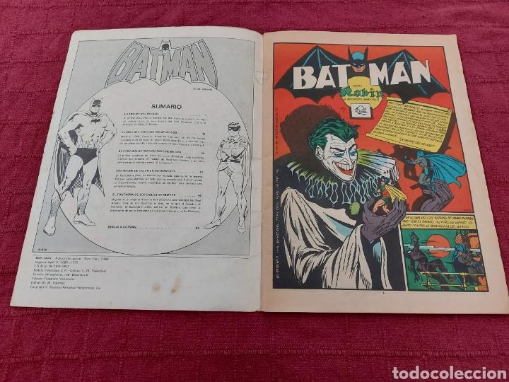 Tebeos: BATMAN-ÁLBUM GIGANTE EDITORIAL VALENCIANA 1976-COMIC SUPER HEROES - Foto 10 - 214254993