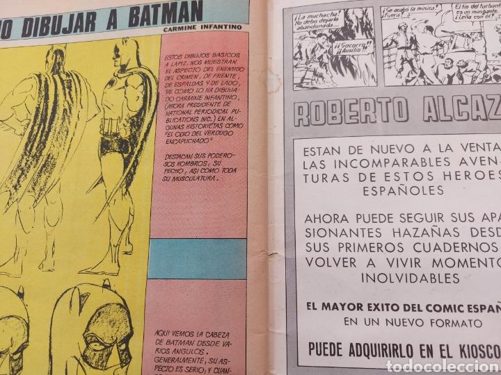 Tebeos: BATMAN-ÁLBUM GIGANTE EDITORIAL VALENCIANA 1976-COMIC SUPER HEROES - Foto 13 - 214254993