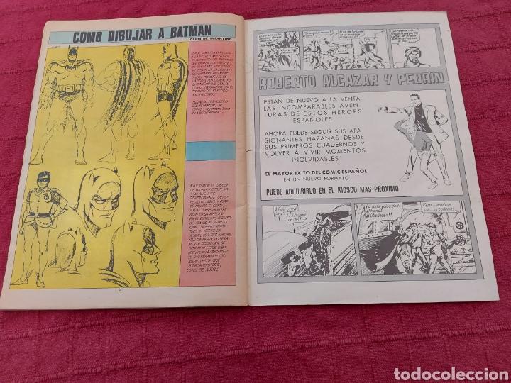 Tebeos: BATMAN-ÁLBUM GIGANTE EDITORIAL VALENCIANA 1976-COMIC SUPER HEROES - Foto 14 - 214254993