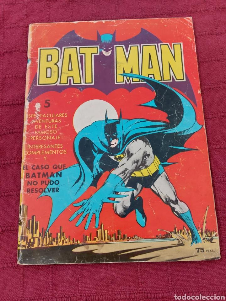 BATMAN-ÁLBUM GIGANTE EDITORIAL VALENCIANA 1976-COMIC SUPER HEROES (Tebeos y Comics - Valenciana - Otros)