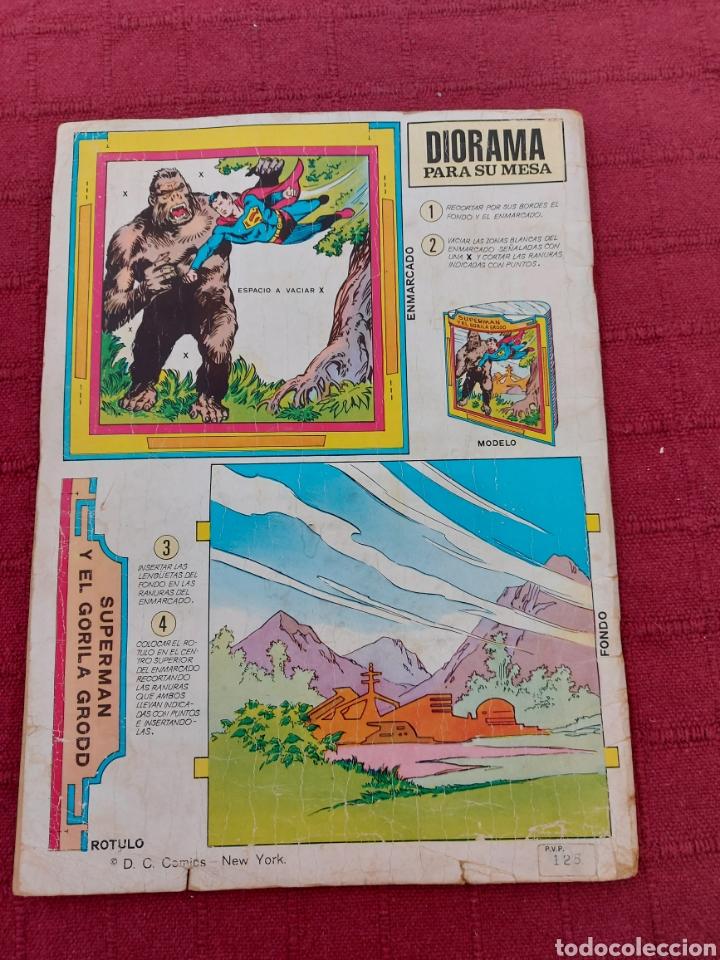 Tebeos: SUPERMAN ÁLBUM GIGANTE EDITORIAL VALENCIANA 1976- 4 AVENTURAS- COMIC EDICION LIMITADA-SUPER HEROES - Foto 2 - 214259052