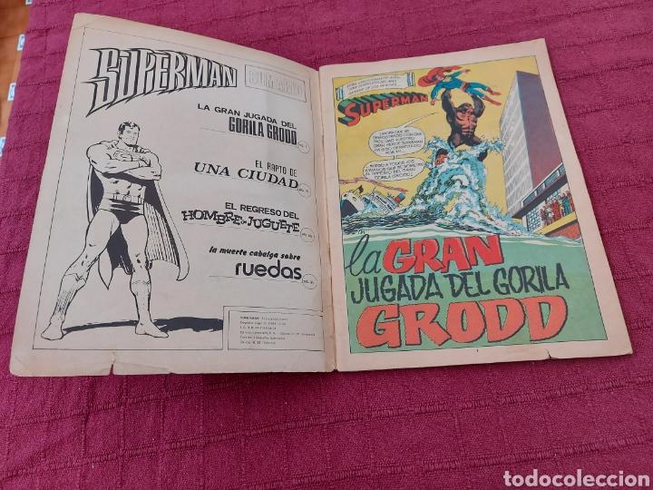 Tebeos: SUPERMAN ÁLBUM GIGANTE EDITORIAL VALENCIANA 1976- 4 AVENTURAS- COMIC EDICION LIMITADA-SUPER HEROES - Foto 12 - 214259052