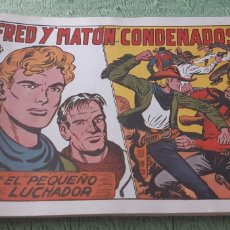 Tebeos: TEBEOS-COMICS GOYO - PEQUEÑO LUCHADOR 181 - VALENCIANA 1945 - AA98. Lote 214260767