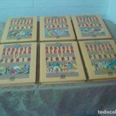 Tebeos: ROBERTO ALCAZAR Y PEDRIN COMPLETA 6 TOMOS EDITORIAL BRUCH 1990. Lote 214573563