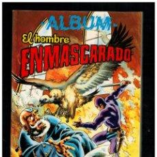 Tebeos: ALBUM EL HOMBRE ENMASCARADO 3 CON NºS 27,28,29 Y 30 VALENCIANA. Lote 214629533
