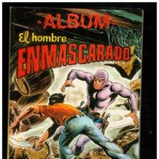 Tebeos: ALBUM EL HOMBRE ENMASCARADO 8. RETAPADO CON NºS 47 A 50. VALENCIANA. Lote 214630615