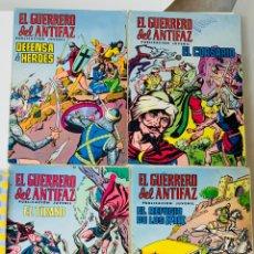 Tebeos: EL GUERRERO DEL ANTIFAZ AÑO 1972 LOTE DE 5 UNIDADES NUMEROS 6-20-28-29-34 12 PTS. Lote 214974608
