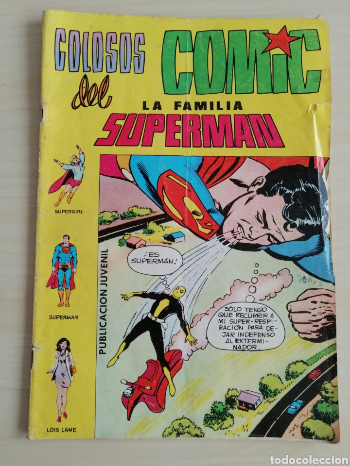 CÓMIC LA FAMILIA SUPERMAN DE 1979. EDITORIAL VALENCIANA. (Tebeos y Comics - Valenciana - Colosos del Comic)