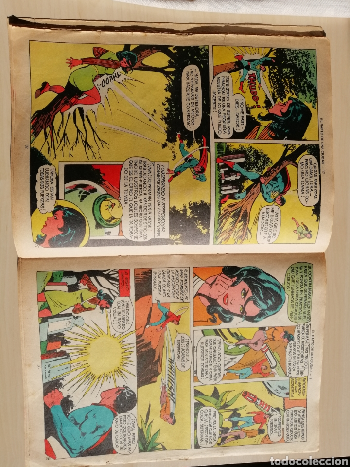 Tebeos: Comic de Superman de 1976 de Ediciones Valenciana. - Foto 2 - 215175828