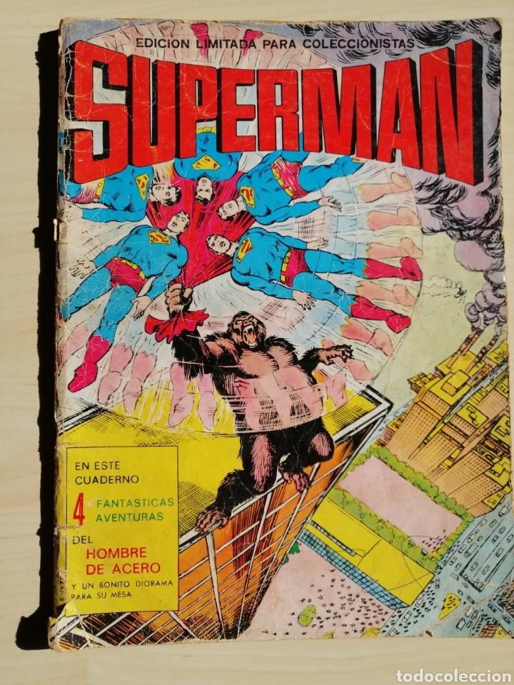 COMIC DE SUPERMAN DE 1976 DE EDICIONES VALENCIANA. (Tebeos y Comics - Valenciana - Colosos del Comic)