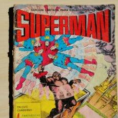 Tebeos: COMIC DE SUPERMAN DE 1976 DE EDICIONES VALENCIANA.. Lote 215175828