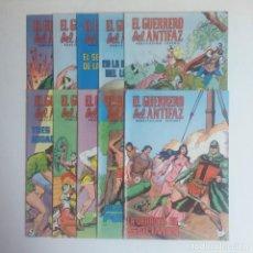 Tebeos: LOTE DE COMICS EL GUERRERO DEL ANTIFAZ, DIEZ NUMEROS. Lote 215288162