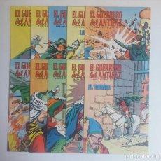 Tebeos: LOTE DE COMICS EL GUERRERO DEL ANTIFAZ, DIEZ NUMEROS. Lote 215288181