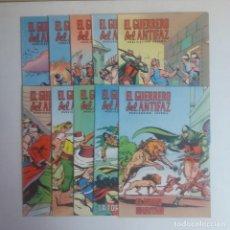 Tebeos: LOTE DE COMICS EL GUERRERO DEL ANTIFAZ, DIEZ NUMEROS. Lote 215288191