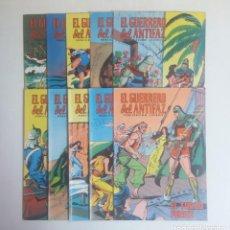 Tebeos: LOTE DE COMICS EL GUERRERO DEL ANTIFAZ, DIEZ NUMEROS. Lote 215288205