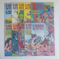 Tebeos: LOTE DE COMICS EL GUERRERO DEL ANTIFAZ, DIEZ NUMEROS. Lote 215288215