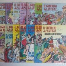 Tebeos: LOTE DE COMICS EL GUERRERO DEL ANTIFAZ, CATORCE NUMEROS. Lote 215288302