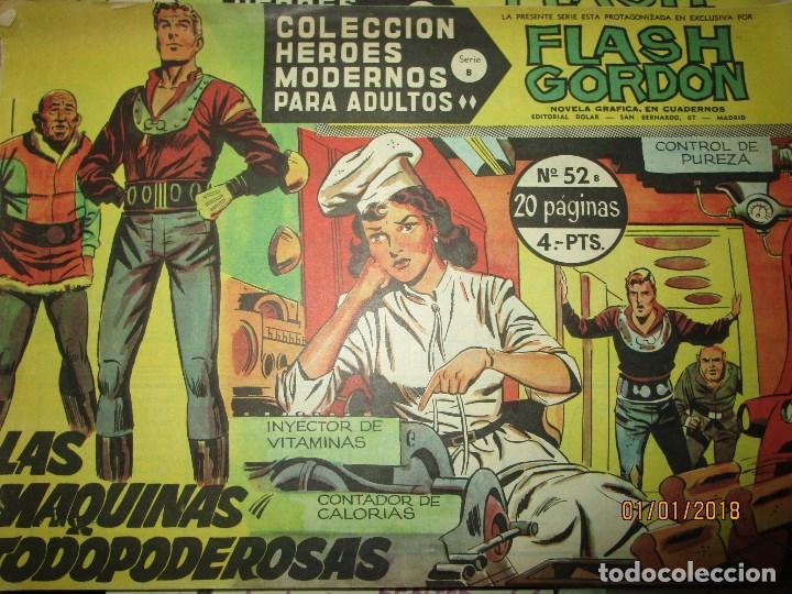 Tebeos: lote tebeos flash gordon SERIE B ORIGINAL 44 45 42 43 52 53 54 73 - Foto 6 - 215438951