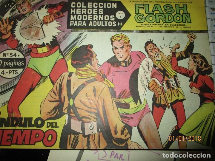 Tebeos: lote tebeos flash gordon SERIE B ORIGINAL 44 45 42 43 52 53 54 73 - Foto 8 - 215438951