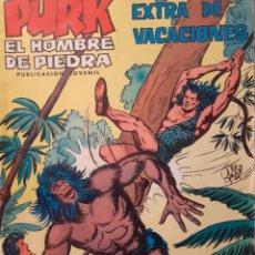 Tebeos: PURK EL HOMBRE DE PIEDRA-SELECCIÓN AVENTURERA- EXRA DE VACACIONES-1974-DIFÍCIL-BUENO-LEA-3523. Lote 215477968