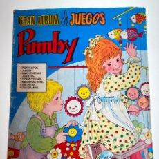 Tebeos: COMIC GRAN ALBUM DE JUEGOS PUMBY - Nº 38 - 1983 - ORIGINAL - J. SANCHIS. Lote 215731285