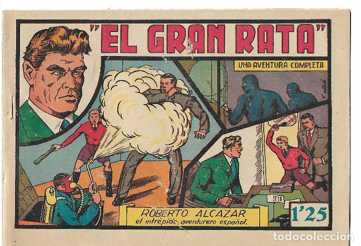 ROBERTO ALCAZAR NUM 58 - ORIGINAL (Tebeos y Comics - Valenciana - Roberto Alcázar y Pedrín)