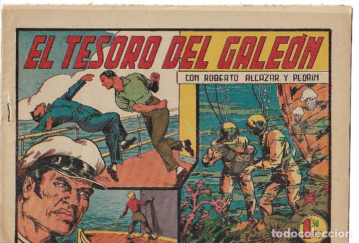 ROBERTO ALCAZAR NUM 154 - ORIGINAL (Tebeos y Comics - Valenciana - Roberto Alcázar y Pedrín)