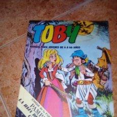 Livros de Banda Desenhada: TOBY.NUMERO 15.VALENCIANA 1984. Lote 216566486
