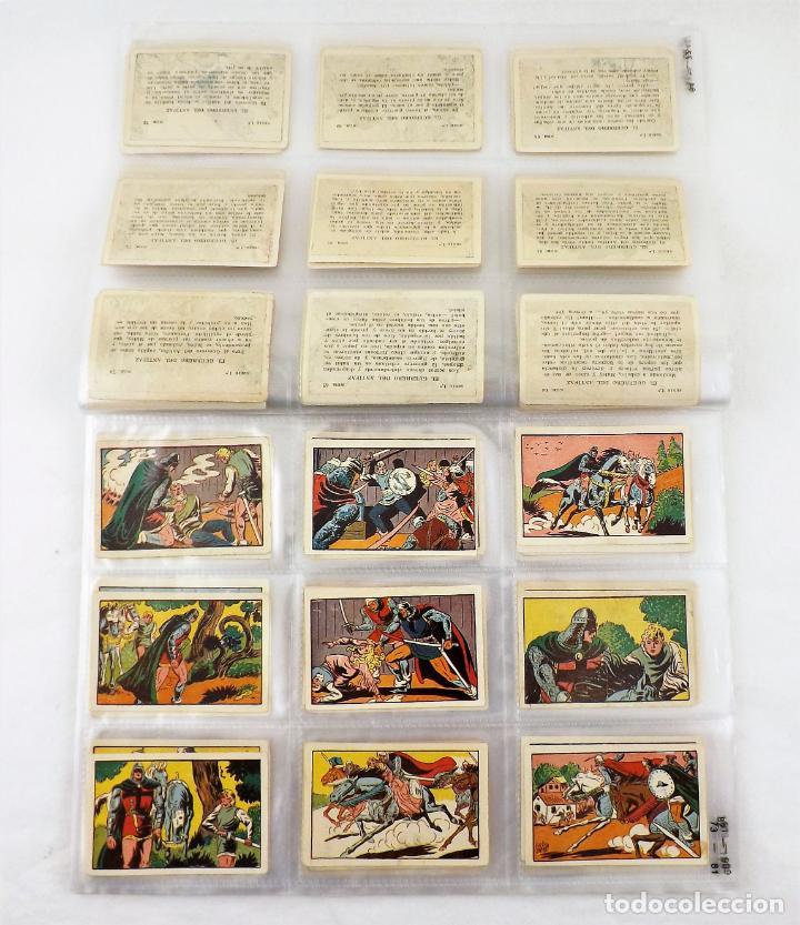 Tebeos: El Guerrero del antifaz. Colección cromos completa series I,II,III y IV - Foto 2 - 216673871