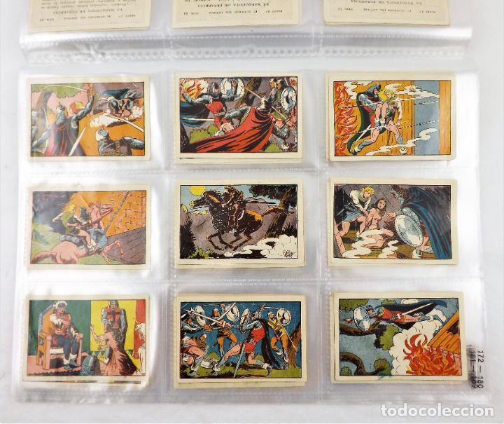 Tebeos: El Guerrero del antifaz. Colección cromos completa series I,II,III y IV - Foto 3 - 216673871